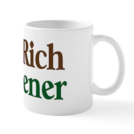 Dirt Rich Gardener Mug