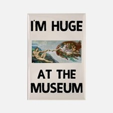 Huge at the Museum Rectangle Magnet (10 pack)