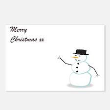 Unique December Postcards (Package of 8)