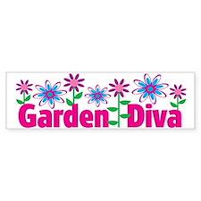 Garden Diva Bumper Bumper Sticker