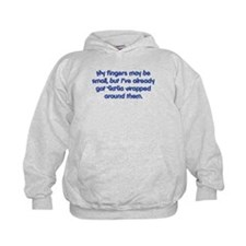 YiaYia's Wrapped (blue) Hoodie
