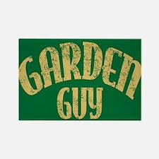 Garden Guy Rectangle Magnet
