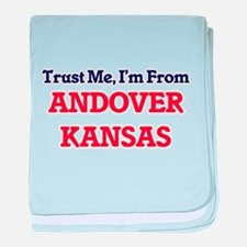 Trust Me, I'm from Andover Kansas baby blanket