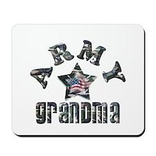 Army Grandma Camo Mousepad