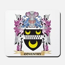 Coventry Coat of Arms (Family Crest) Mousepad
