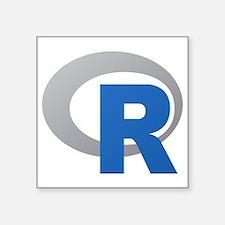 R Programming Language Logo New Sticker