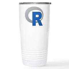 R Programming Language Logo New Travel Mug