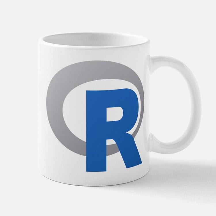 R Programming Language Logo New Mugs