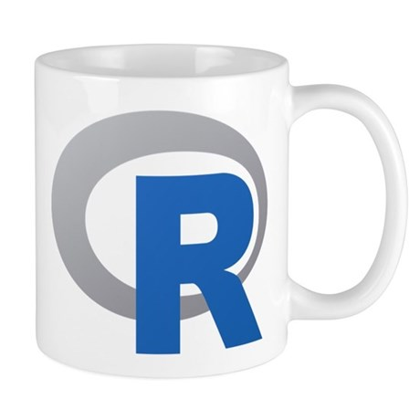 R Programming Language Logo New Mugs