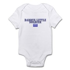 Daddys Little Soldier Infant Bodysuit