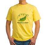 Peace Pod Yellow T-Shirt