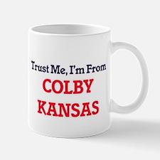 Trust Me, I'm from Colby Kansas Mugs
