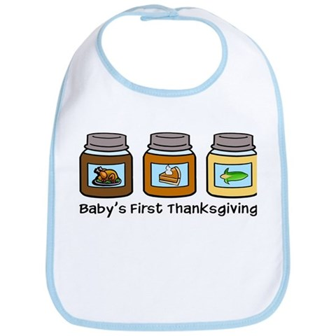 Thanksgiving Baby Bibs