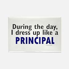 Dress Up Like A Principal Rectangle Magnet