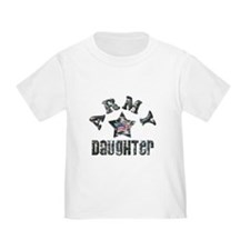 KIDS - Army Daughter Camo T