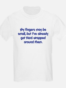 Nani's Wrapped (blue) T-Shirt