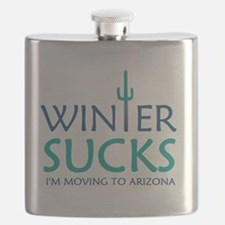 Cute Moving Flask