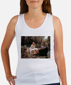 The Lady Of Shallot - 1- 18x13.693 Tank Top