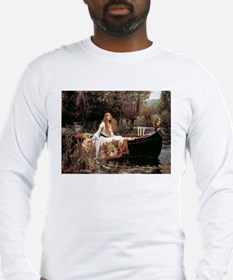 The Lady Of Shallot - 1- 18x13 Long Sleeve T-Shirt