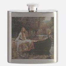 The Lady Of Shallot - 1- 18x13.693 Flask