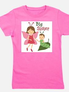 Cool Big little sister of twins Girl's Tee
