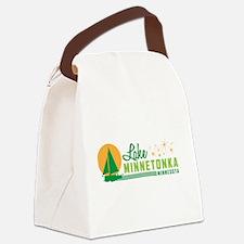 Lake Minnetonka, Minnesota Canvas Lunch Bag