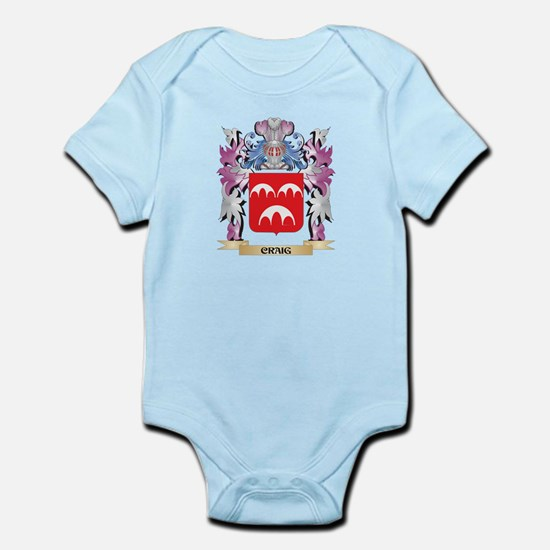 Craig Coat of Arms (Family Crest) Body Suit