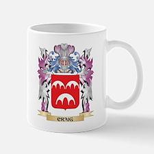 Craig Coat of Arms (Family Crest) Mugs
