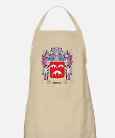 Craig Coat of Arms (Family Crest) Apron