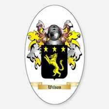 Wilson England Sticker (Oval)