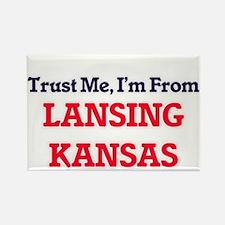 Trust Me, I'm from Lansing Kansas Magnets