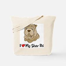 Love Shar Pei Tote Bag