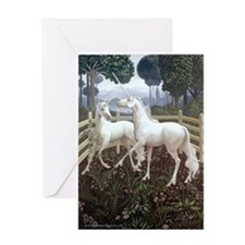 Unicorn Tapestry Card Greeting Cards