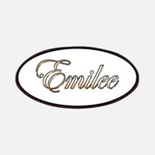 Gold Emilee Patch