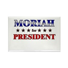 MORIAH for president Rectangle Magnet