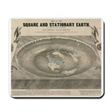 Flat earth Mouse Pads