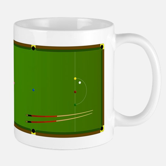 Snooker Table Mugs