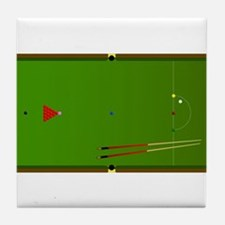 Snooker Table Tile Coaster