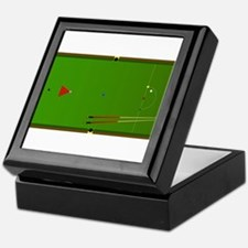 Snooker Table Keepsake Box