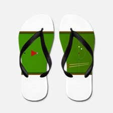 Snooker Table Flip Flops