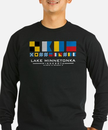 Lake Minnetonka, Minnesota Nau Long Sleeve T-Shirt