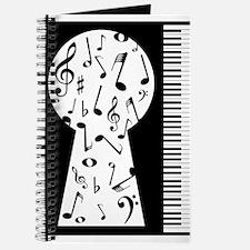 Piano Keyhole Journal