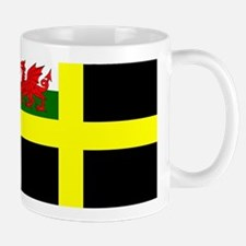 Flag of Saint David Mugs