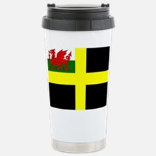 Flag of Saint David Stainless Steel Travel Mug
