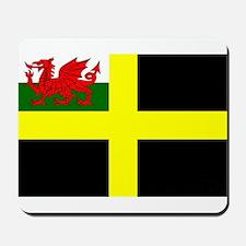 Flag of Saint David Mousepad