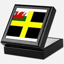 Flag of Saint David Keepsake Box
