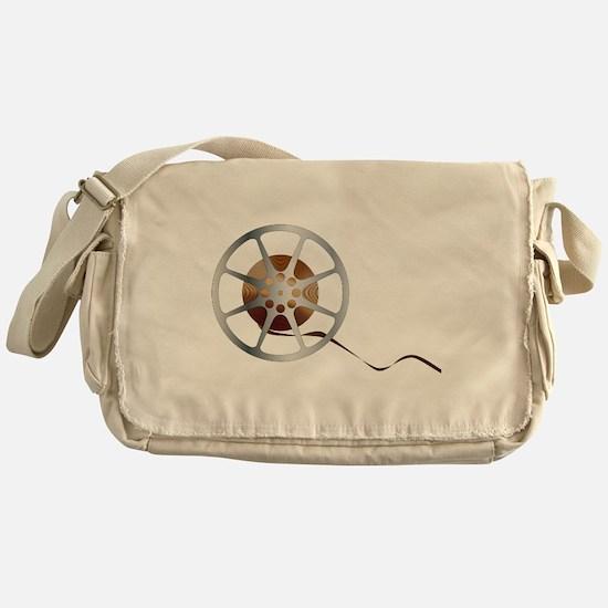 Movie Reel Messenger Bag