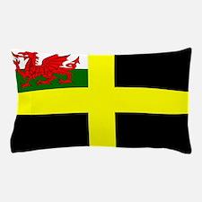 Flag of Saint David Pillow Case