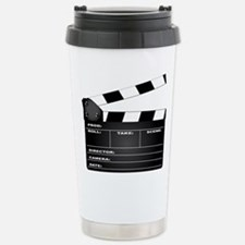 Clapperboard Stainless Steel Travel Mug