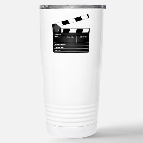 Clapperboard Stainless Steel Travel Mug